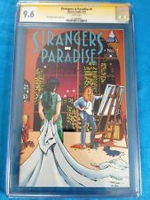 Strangers in Paradise v2 #1 - Abstract - CGC SS 9.6 NM+ - Signed by Terry Moore