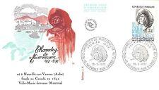 Enveloppe FDC 1er Jour CHOMEDEY DE MAISONNEUVE 1972