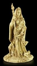 HÉCATE Figura - divinidad der Wicca Crema - Estatua Altar FIGURA DE ALTAR Magia