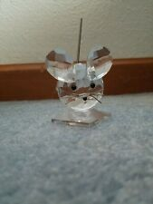 1982-1987 Swarovski Crystal King Mouse - 7631 060 000 Spring Coil Tail Excellent