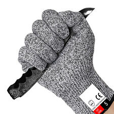 Safety Cut Proof Stab Resistant Stainless Steel Wire Metal Mesh Butcher Gloves L