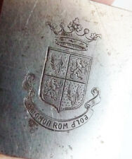 Matrice de sceau cachet STERN Couronne armoiries 19e siècle Russie