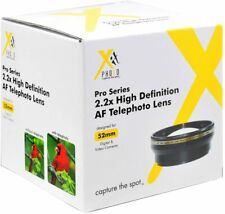 XIT Pro series 52mm 2.2x High Definition AF Telephoto Lens