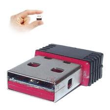 ANTENNA CHIAVETTA NANO ADATTATORE WIRELESS 300N Mbps USB WI-FI MICRO ADAPTER
