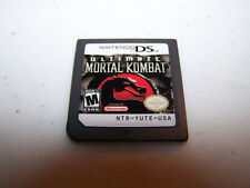 Ultimate Mortal Kombat (Nintendo DS) Lite DSi XL 3DS 2DS Game