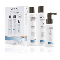 NIOXIN HAIR SYSTEM KIT 5 NORMAL TO THIN LOOKING FOR MEDIUM TO COARSE HAIR