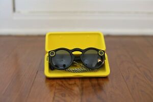 Snap Inc. Snapchat Spectacles - Black - Barely Used