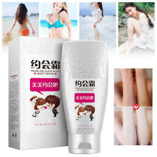 Instant Skin Whitening Bleaching Cream For Dark Skin Hyaluronic Acid Body Lotion
