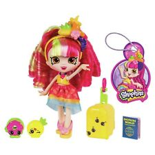 Shopkins Shoppies Brazil Themed Dolls Tour Donatina Play Doll Girls Toy Figure