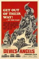 70589 Devil Angels John Cassavetes, Beverly Adams Wall Print POSTER Plakat