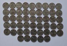 More details for usa state quarter dollar full set 50 coins us america