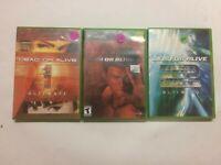 Dead or Alive Ultimate 1&2+ Dead or Alive 3 for Xbox all CiB!!!