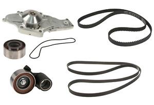 Timing Drive Belt Water Pump Tensioner Idler Pulley Kit for select Honda & Acura