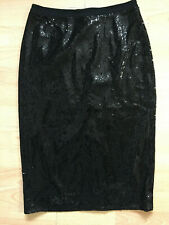 BODEN black  party Pencil Skirt size 8.  WG695. NEW