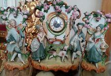 antique clock set