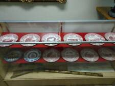 10x West Point 1930 Wedgewood Dishes + 2 other Usma Commemorative dishes.