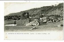 CPA-Carte Postale-France -Boulogne sur Mer - Equiben- Plage et Falaise-VM6634