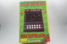 YONEZAWA TOYS 1980 MOLE HUNTER GAME IN BOX GOOD CONDITION WORKING MADE IN JAPAN