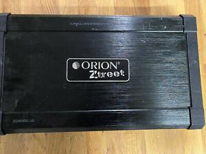Orion ZO80001D 8000W Ztreet D Class Amplifier