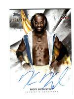 WWE Kofi Kingston 2019 Topps Undisputed On Card Autograph SN 126 of 199
