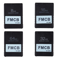 FMCB Free McBoot Card V1.953 for Sony PS2 Playstation2 Memory Card OPL MC B T5L5