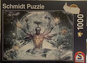 SCHMIDT 1000 PIECE JIGSAW PUZZLE - DREAM IN THE UNIVERSE  58212