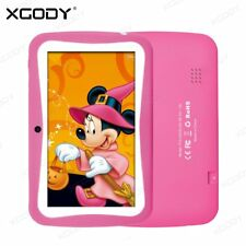 7'' Google Android 5.1 Tablet PC Quad-core Dual Camera 8GB Kids Education XGODY