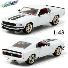 GREENLIGHT 86236 ROMAN'S 1969 FORD MUSTANG FAST AND FURIOUS DIECAST CAR 1:43