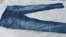 Just Cavalli destroyed jeans men medium blue jeans 32 - EUC