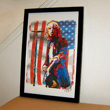 Tom Petty the Heartbreakers Guitar Rock Pop Music Print Poster Wall Art 11x17