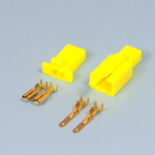 Quality 2 Way 2.8mm Mini Electrical Connector Yellow Motorbike Motorcycle Car
