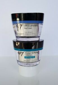 No7 PROTECT & PERFECT INTENSE Advanced & LIFT & LUMINATE DAY CREAM ANTI-AGING
