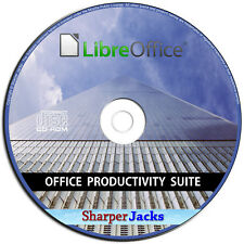 NEW & Fast Ship! Libre Office Suite Word Processor / Spreadsheet Software Linux