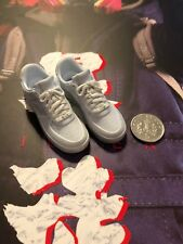 Virtual Toys The Dark Zone Rioter White Sneakers Trainers loose 1/6th scale