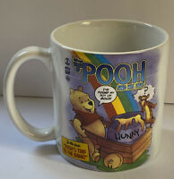 Disney Store Tales Of Pooh & His Pals Coffee Mug Cup Poohs Trip To The Bank 16oz