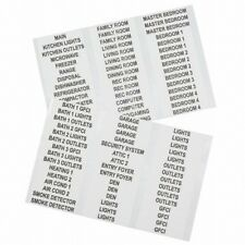 Klein Tool Household Electrical Panel Labels