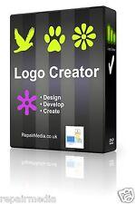 Logo Creator Maker Designer Professional Graphics Print Logo PC DVD Software