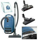 Miele Complete C3 Powerline Canister Vacuum Cleaner + Blue + Miele Refurbished photo