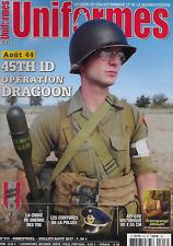 Uniformes N° 308 / U.s. Army les Tenues HBT - 43-44 un para allemand en Italie