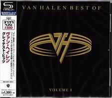 VAN HALEN BEST OF VOLUME I 2017 JAPAN RMST SHM HIGH FIDELITY FORMAT CD+1