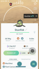 Pokemon Go Trade Lv24 Galarian Stunfisk with 2nd charge move Great League PVP
