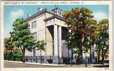 RICHMOND, Virginia  VA   White House of the Confederacy  (12th & Clay)  Postcard