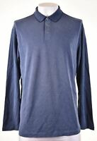 TOMMY BAHAMA Mens Polo Neck Jumper Sweater XL Blue Modal GS14