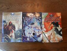 Lot of 3 Vampirates books by Justin Somper YA Teen Fiction BOOKS 1,2,3 PAPERBACK