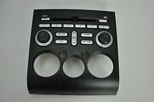 2006 MITSUBISHI GALANT RADIO CONTROL FACE PLATE BLACK 8002A247HC