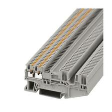 5 x Phoenix Contact Feed Through Terminal Block, PT Series , 0.14-1.5mm², 500V