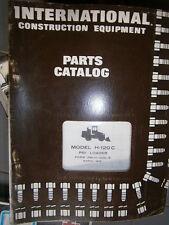 IH International H120C chargeur Pay Loader : parts catalog 1974