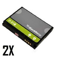 2X OEM Blackberry Battery DX1 D-X1 For Curve 8900 Storm 9530 9630 9500 9520