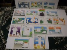 Matching Activities With Pentominoes 16 Card Laminated Set Ideal School Supply