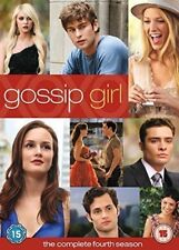 GOSSIP GIRL SEASON 4 NEW SEALED WITH EXTRAS REGION 1 FREE UK POST